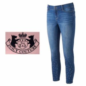 Juicy Couture Skinny Jeans Embellished Sz 10 NWT